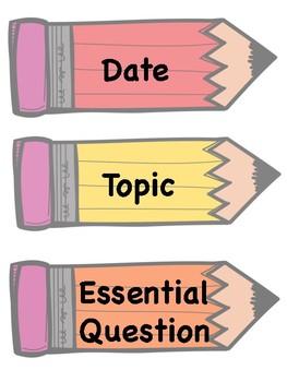 Adenda topics