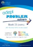 Math: Adept Problem Solvers Book 15 SAMPLE
