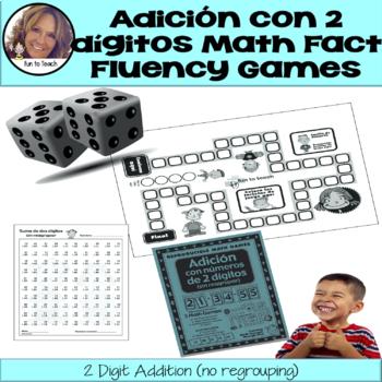 Adicion Con Numeros De 2 Digitos - Math Games and Lesson Plans