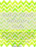 Teacher Reflection Guide