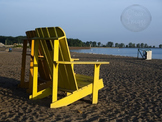 Adirondack Chair at the Beach -  Stock Photo for Personal