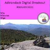 Adirondack Digital Breakout Working with Statistics