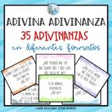 Adivina Adivinanza - 35 adivinanzas