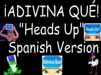 Adivina Que Spanish Heads Up Electronic Game Advanced Version
