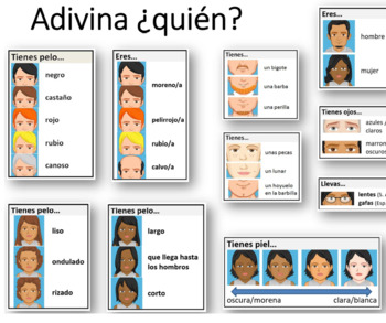 Adivina Quien - Guess Who
