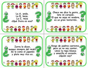 Adivinanzas Riddles in Spanish
