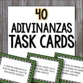 Adivinanzas Task Cards - Bellringers, Warm-Ups, Worksheet, Cooperative Activity