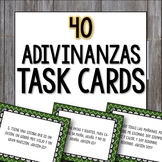 Adivinanzas Task Cards - Bellringers, Warm-Ups, Worksheet, Cooperative Activity