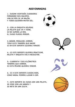 Deportes: Adivinanzas II