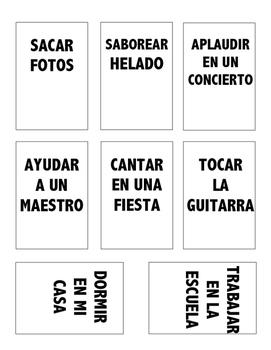 Adivinazas - Verb Game