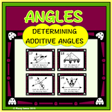 Adjacent Angles Task Cards