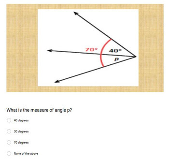 Adjacent Angles - Google Form & Video Lesson with Notes!