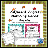 Adjacent Angles Matching Card 2 Deck Set