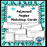 Adjacent Angles Matching Card Set