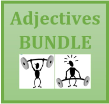 Adjectifs (French adjectives) Bundle