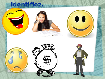 Adjectifs (French adjectives) Contraires PowerPoint