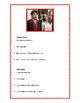 Adjectifs, description des célébrités, worksheet on adjectives in French