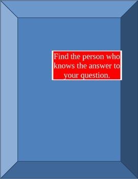 Answer me this! etre aller avoir faire