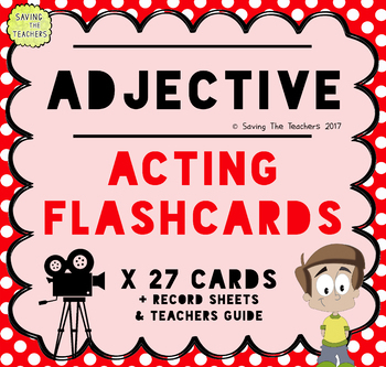 Adjective Acting Game