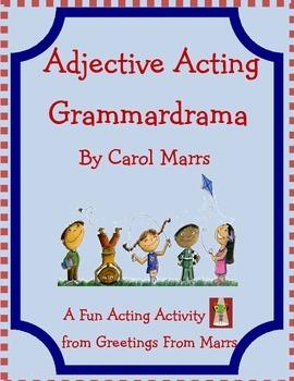 Adjective Acting Grammardrama