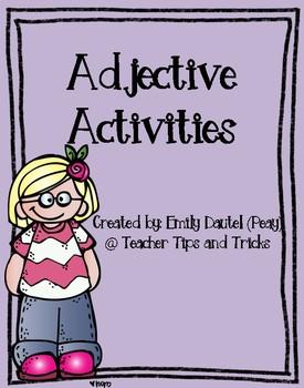 Adjective Activities ***Melonheadz***