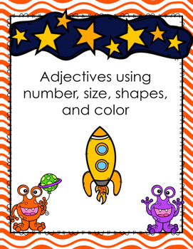 Adjective Activities (Shape, Size, Number, Color)