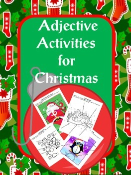 Adjective Activities for Christmas
