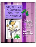 Adjective Activities for the Classroom