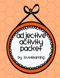 Adjective Activity Packet