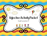 Adjective Activity Packet (Poem, Printables, and Story)