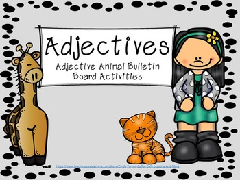 Adjective: Adjective Animals Artivity