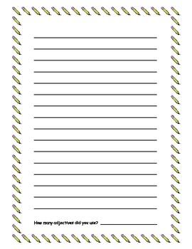 Adjective Adventure Writing Prompt