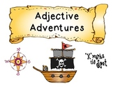 Adjective Adventures Game: Common Core aligned