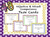 Adjective & Adverb Comparisons Task Cards