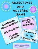 Adjective Adverb Game Practice for the Common Core