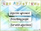 Adjective Agreement Describing People (Lesson, games, activities, PowerPoints)