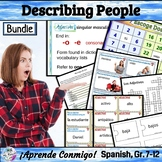 Adjective Agreement Describing People (Lesson, games, acti