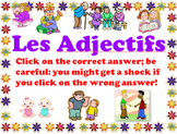 Adjective Agreement Multiple Choice
