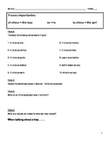 Adjective Agreement Spanish - Guided Notes - 8 pages with practice!!