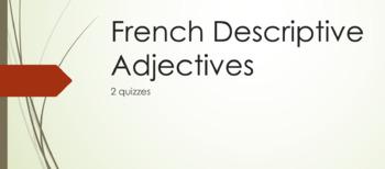 Adjective Agreement : practice QUIZ and regular QUIZ
