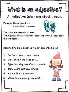 Adjective Antics