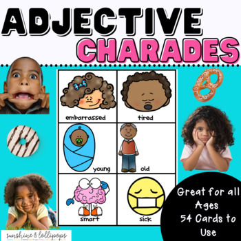 Parts of Speech Adjective Antics A Fun Game to Reinforce Adjectives