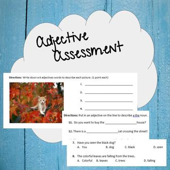 Adjective Assessment
