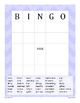 Adjective Game - BINGO {Differentiated}