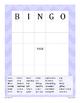 Adjective Game - BINGO {Differentiated}