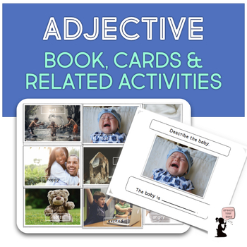 Adjective Book, Cards, & Related Activities
