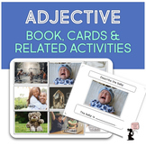 Adjective Book, Flash Cards, & Related Activities