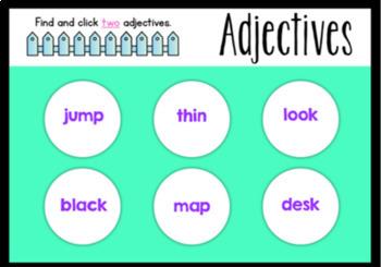 Adjective Boom Cards (Digital Task Cards)