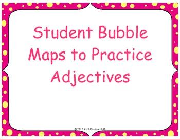 Adjective Bubble Maps