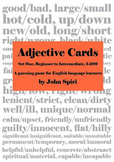 Adjective Cards: Set One, 1-200